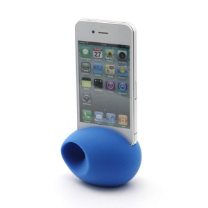 Blue Egg style horn stand