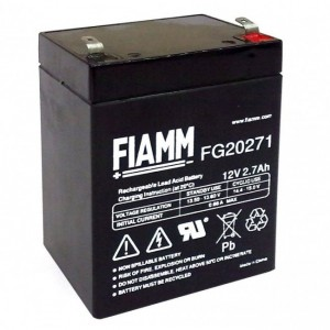 Batteria al Piombo 12V 2,7Ah (Faston 4,8mm)