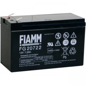 Batteria al Piombo 12V 7,2Ah (Faston 6,3mm)