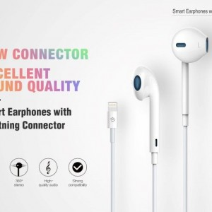Auricolari per iPhone Lightning Bluetooth con controlli