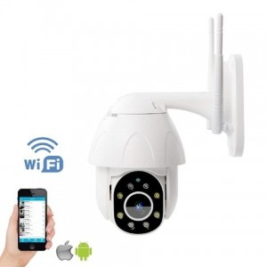 TELECAMERA IP SPEED DOME WIFI - 2MP - 1080P - ycc365 - AUTOTRACKING